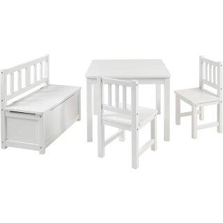 Kindersitzgruppe Anna Weiß/Weiß