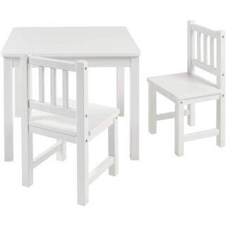 Kindersitzgruppe Amy Weiß/Weiß