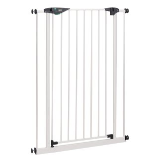 Türschutzgitter Mira 73-161 cm | Extra hoch 107 cm | 90° Feststell-Funktion